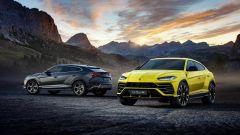 Lamborghini Urus: il frontale