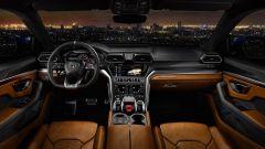 Lamborghini Urus: la plancia