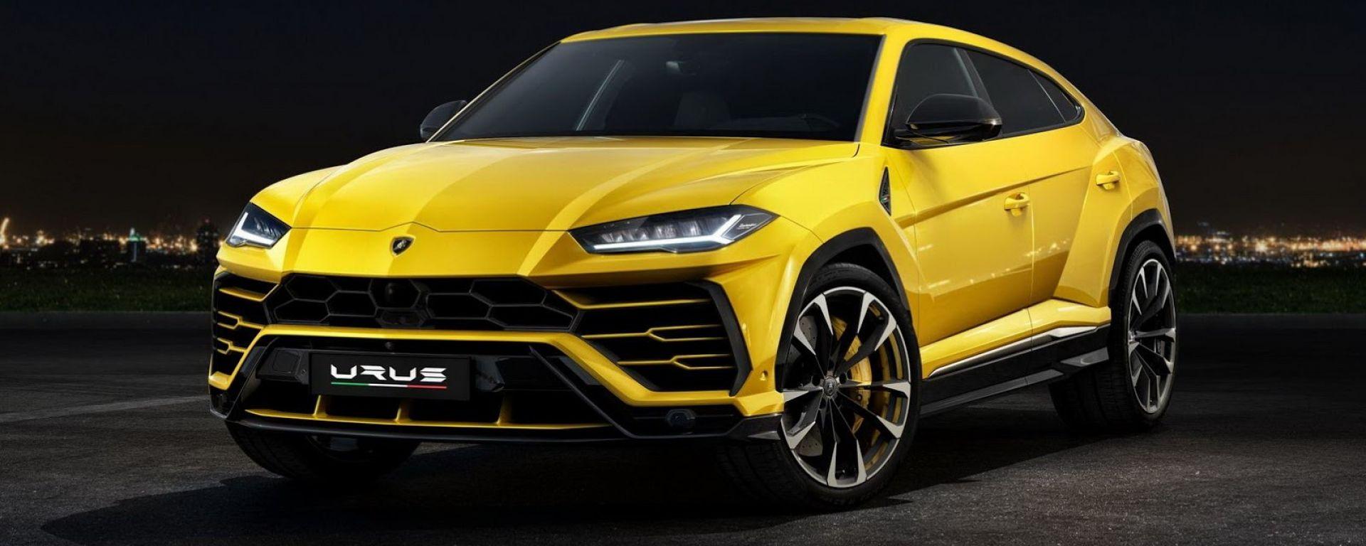 La Lamborghini  Urus ai raggi X: tutto sul nuovo super suv