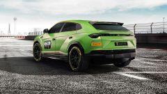 Lamborghini Urus ST-X: ala posteriore in carbonio