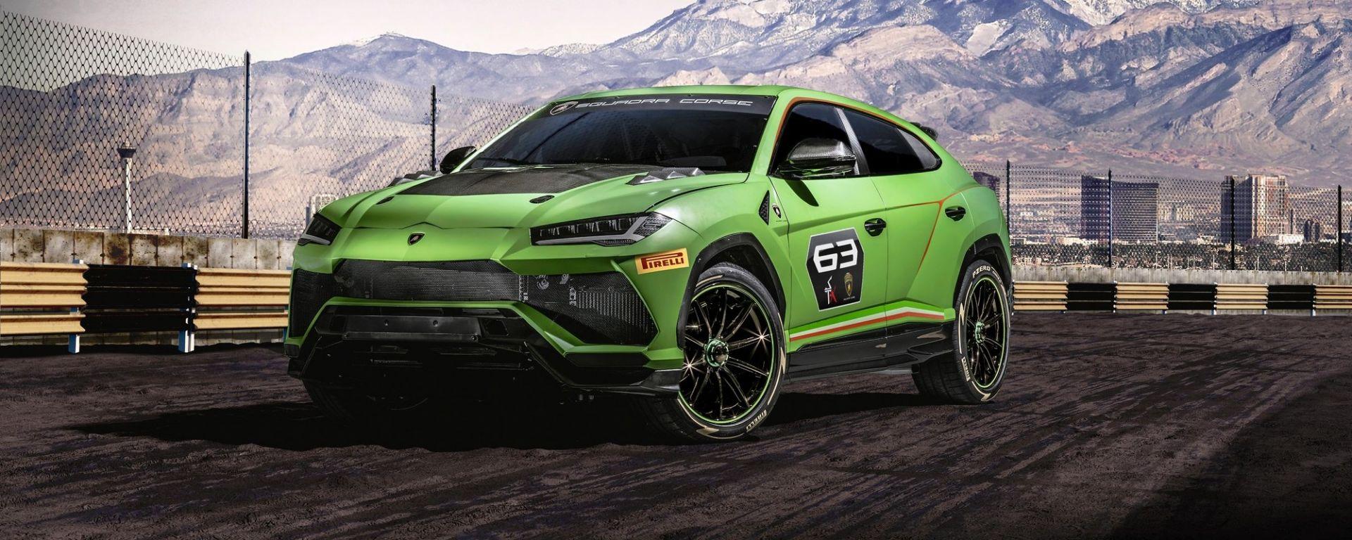 Lamborghini Urus ST-X concept, la Urus da corsa