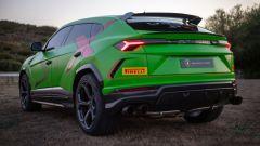Lamborghini Urus ST-X: il 3/4 posteriore