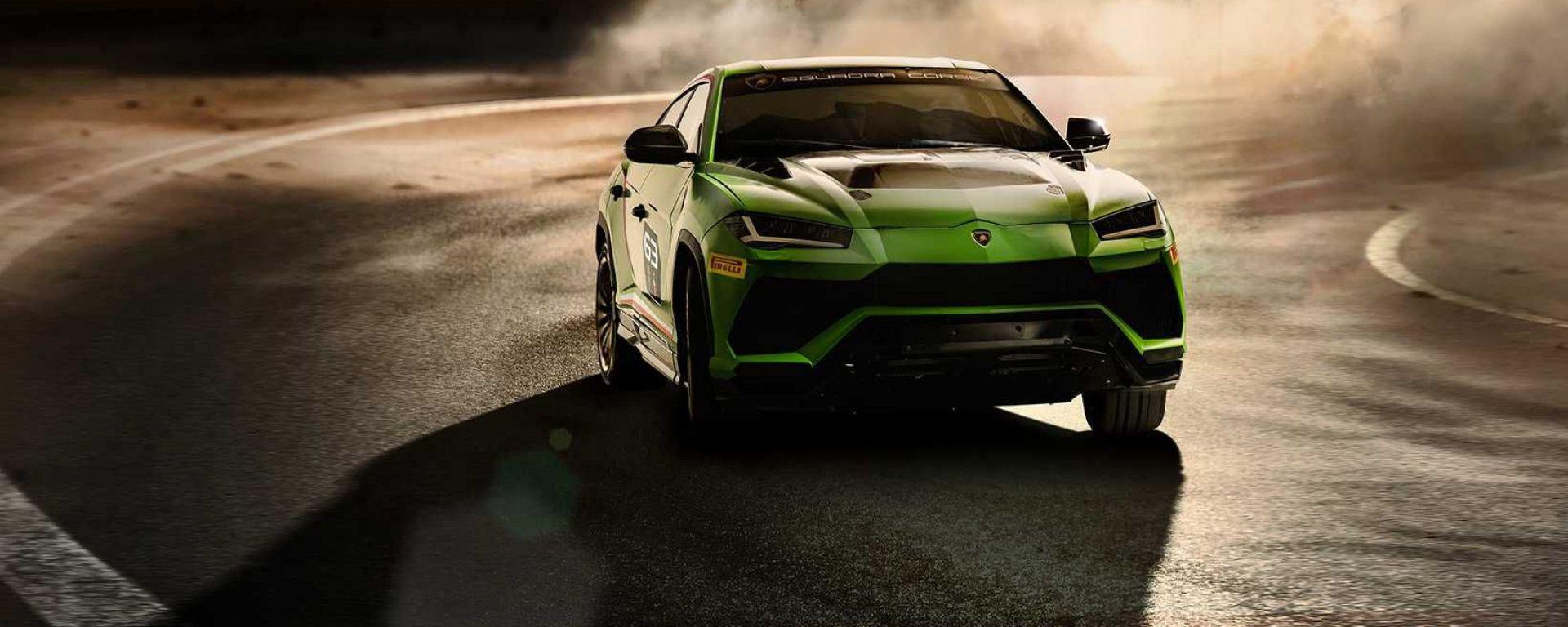 Lamborghini Urus ST-X: il frontale