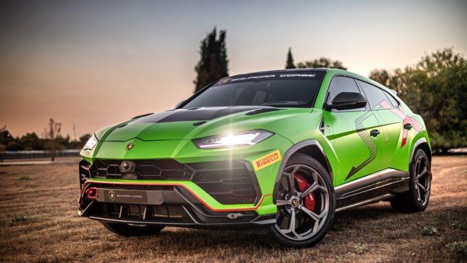Lamborghini Urus ST-X: il super Suv Lambo pronto per le gare