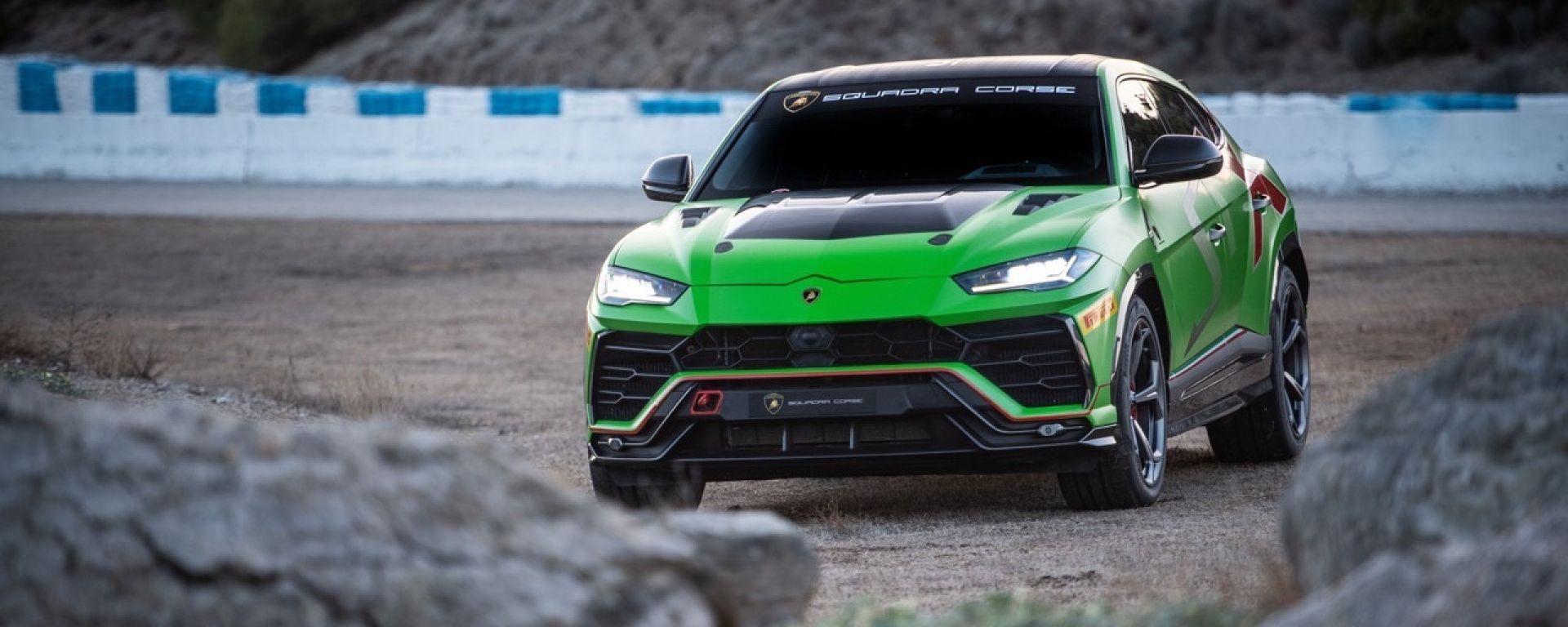 Lamborghini Urus ST-X: il super suv pronto per le gare