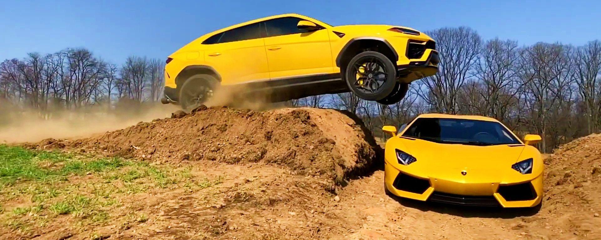 Lamborghini Urus tenta il salto della Lamborghini Aventador