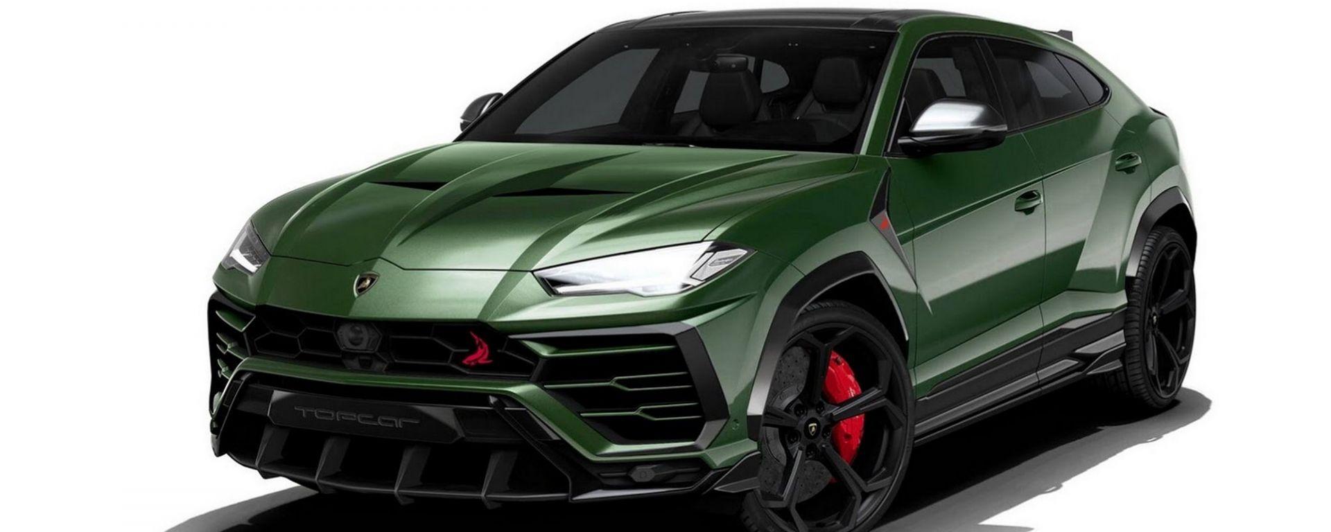 Lamborghini Urus TopCar Body Kit: aggressività Made in Russia