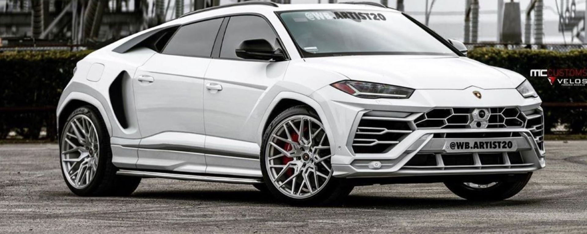 Lamborghini Urus: un render lo immagina così...