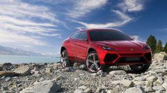Lamborghini Urus, vista 3/4 anteriore
