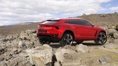 Lamborghini Urus, vista 3/4 posteriore