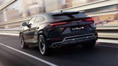Lamborghini Urus: vista posteriore