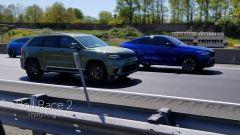 Video YouTube: sfida tra Lamborghini Urus, Bmw X6, Jeep Trackhawk
