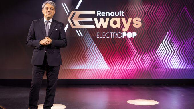 L'Amministratore delegato Renault Luca de Meo