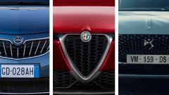 Lancia, Alfa Romeo, DS: destini in comune