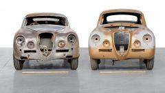 Lancia Aurelia B20GT, il tetto ribassato a confronto con una Aurelia normale