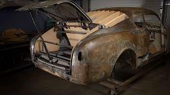 Lancia Aurelia B20GT, tutto il posteriore è stato ricostruito
