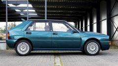 Lancia Delta HF Integrale Evoluzione, la fiancata