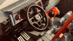 Lancia Delta Integrale 16v Lego MOC: l'abitacolo
