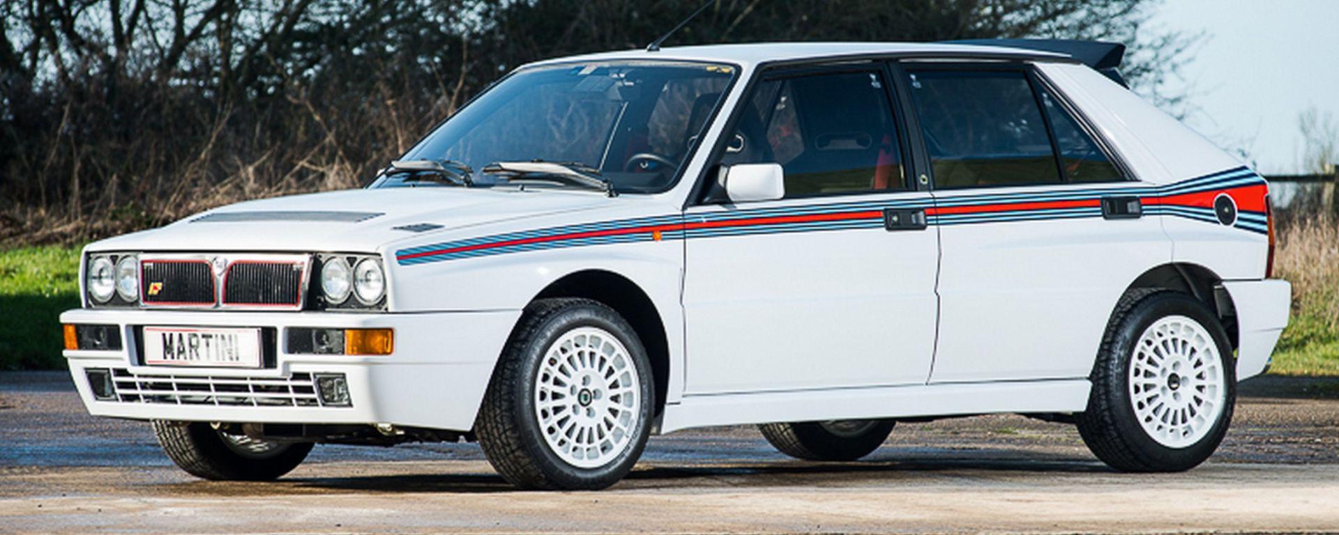 Lancia Delta Martini frontale