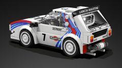 Lancia Delta S4: il set Lego ha anche la classica livrea Martini Racing