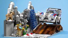Lancia Delta S4: la mitica Gruppo B riproposta in un set Lego