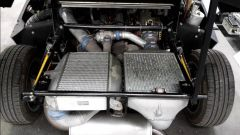 Lancia Delta S4 Stradale: dettaglio degli scambiatori di calore