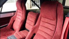 Lancia Delta S4 Stradale: dettaglio dei sedili