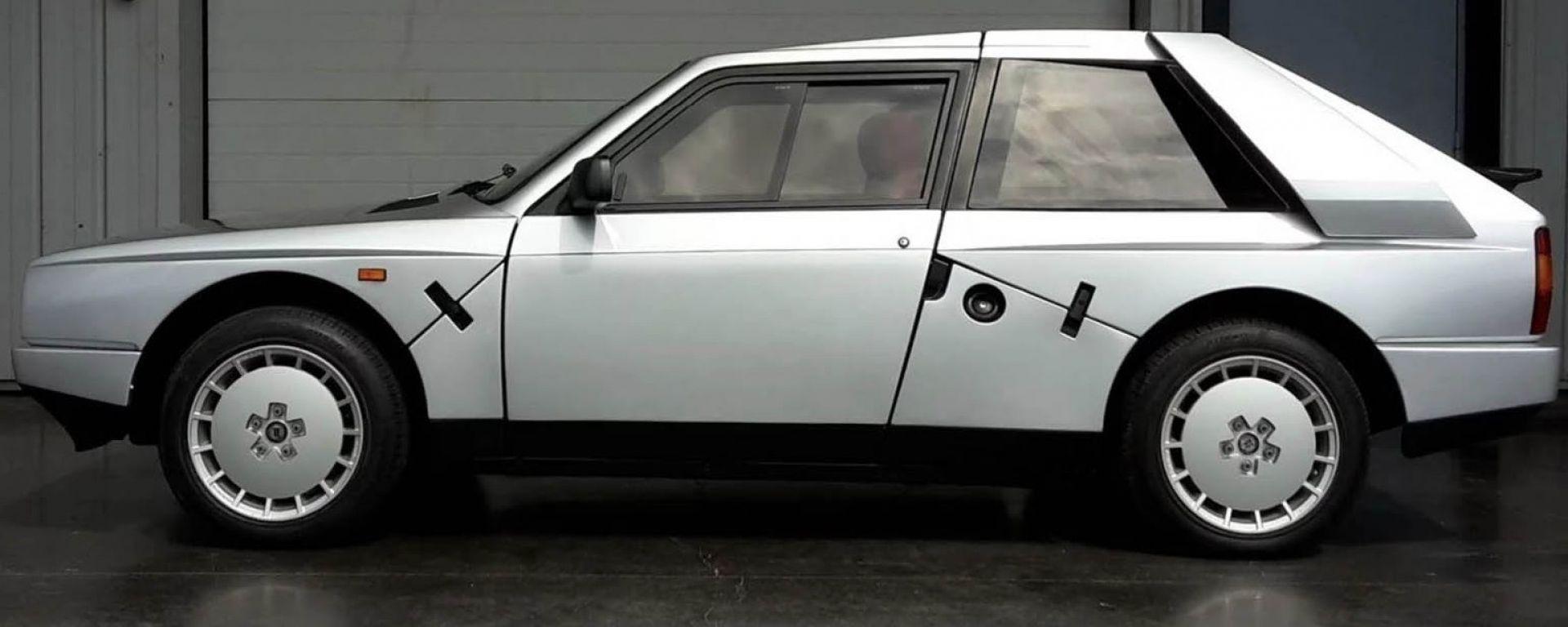 Lancia Delta S4 Stradale: vista laterale