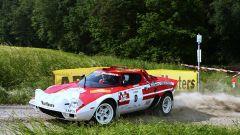 Lancia Stratos Rally originale in azione