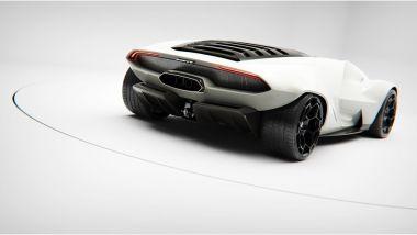 Lancia Stratos Zero by Matteo Gentile