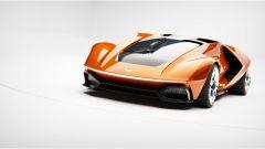 Lancia Stratos Zero in arancione