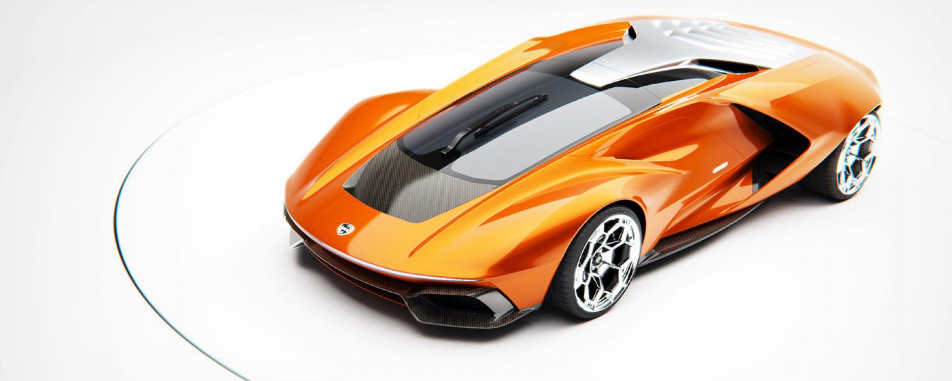 Lancia Stratos Zero rivisitata da Gentile di Touring Superleggera