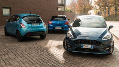 Lancia Ypsilon 1.0 Hybrid, Suzuki Swift 1.2 Hybrid, Ford Fiesta 1.0 Ecoboost Hybrid