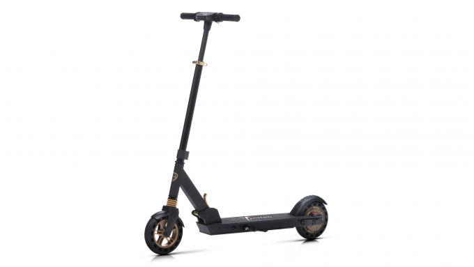 Lancia Ypsilon e-scooter: colorazione Gold