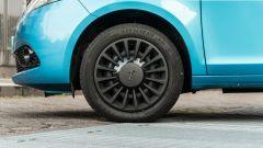 Lancia Ypsilon Ecochic 1.0 Hybrid Maryne, dettaglio del cerchio