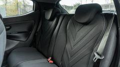 Lancia Ypsilon Ecochic 1.0 Hybrid Maryne, i sedili posteriori