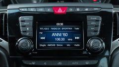 Lancia Ypsilon Ecochic 1.0 Hybrid Maryne, lo schermo dell'infotainment