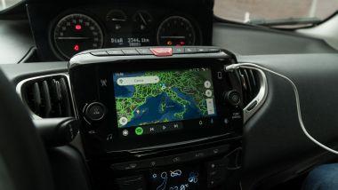 Lancia Ypsilon Hybrid Ecochic 2021: Android Auto