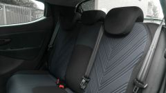 Lancia Ypsilon Hybrid Ecochic 2021: i sedili posteriori in Seaqual