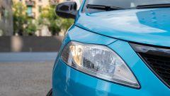 Lancia Ypsilon Hybrid Ecochic Maryne 2020, i fari non sono a LED