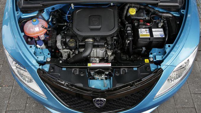 Lancia Ypsilon Hybrid, motore 1.0 3 cilindri da 70 cv