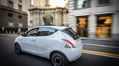 Lancia Ypsilon Mya on the road a Milano