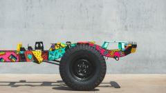 Land Rover Defender Art 110: opera d'arte sotto copertura - Immagine: 3