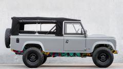 Land Rover Art 110: la Defender diventa opera d'arte di Vasco Costa