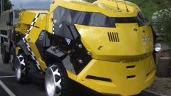 Land Rover City Cab di Judge Dredd