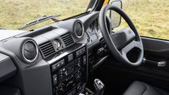 Land Rover Classic: l'abitacolo del fuoristrada limited edition