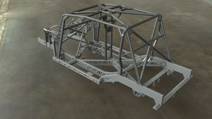 Land Rover Defender 110 by Bowler: il telaio rinforzato