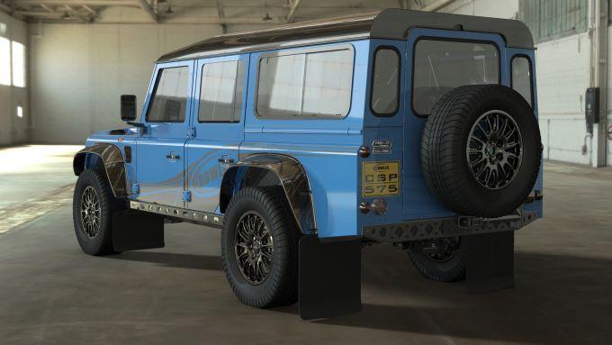 Land Rover Defender 110 by Bowler: potenza di 576 CV dal motore V8