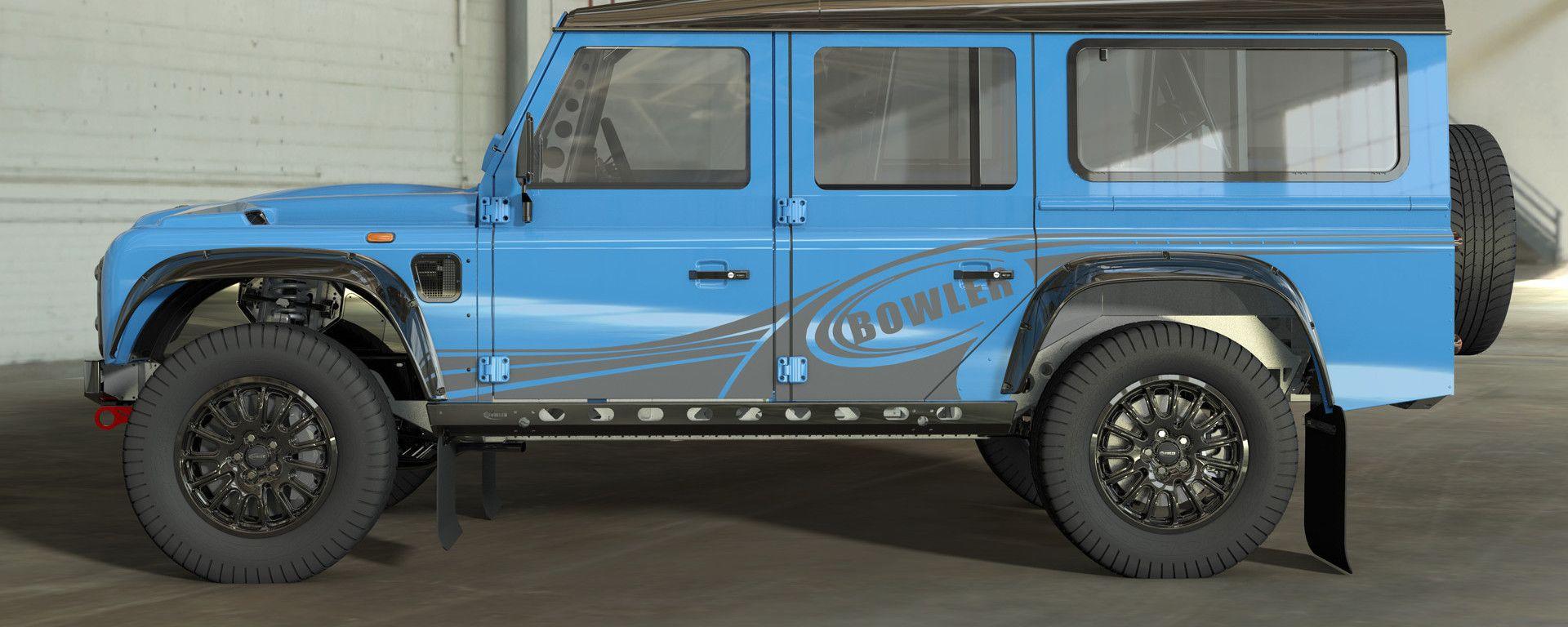 Land Rover Defender 110 by Bowler: una rally car da 576 CV