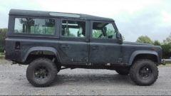 Land Rover Defender 110: ecco come era prima del restauro